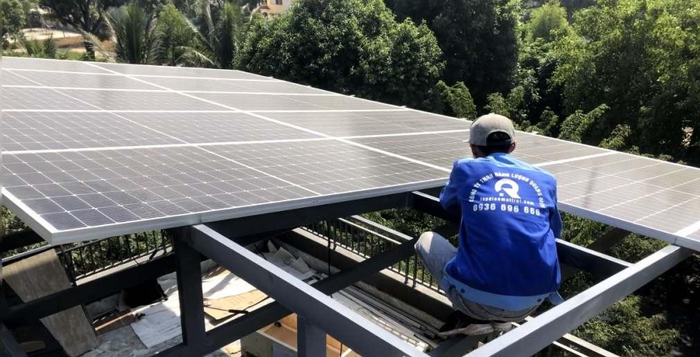 lắp điện năng lượng mặt trời tại hải phòng