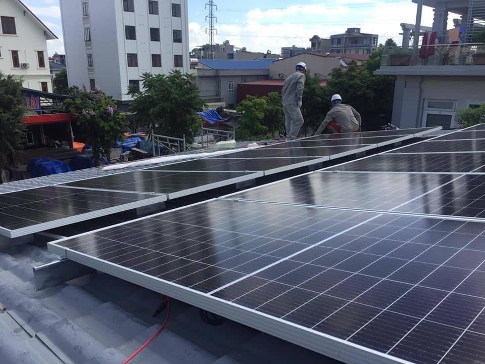 Lắp điện mặt trời tại Hải Dương