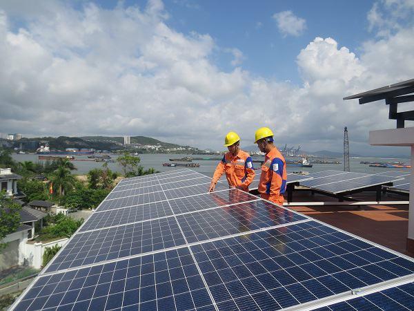 Lắp điện mặt trời tại quảng ninh