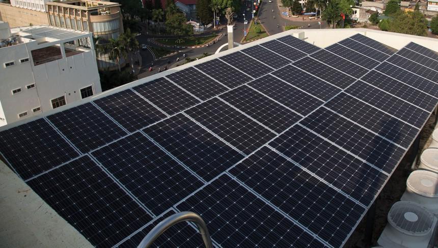 Lắp đặt điện năng lượng mặt trời tại Thuỷ Nguyên Hải Phòng
