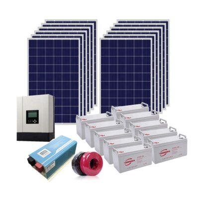 hệ thống điện mặt trời nối lưới có lưu trữ tại Vĩnh Bảo Hải Phòng