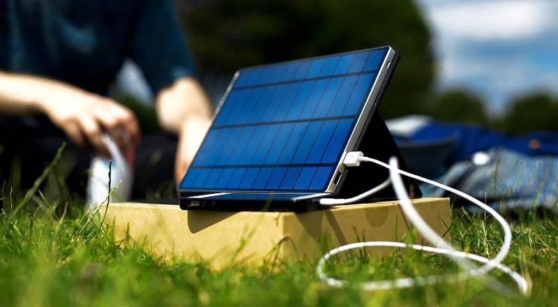 Năng lượng mặt trời cho thiết bị di động