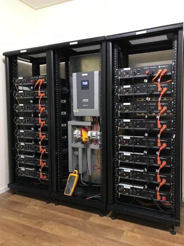 Hệ thống pin lưu trữ điện năng lượng mặt trời 02