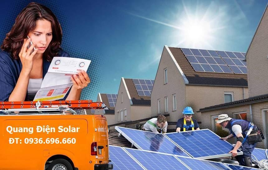 Công ty lắp đặt điện năng lượng mặt trời
