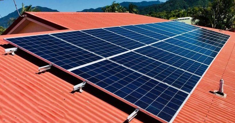 Hệ thống điện năng lượng mặt trời 6 kW
