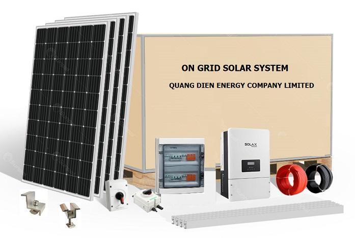 Hệ thống điện năng lượng mặt trời hoà lưới quang điện