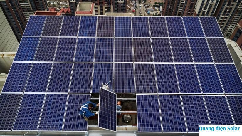 Lắp đặt điện năng lượng mặt trời giá rẻ tại Kiến An