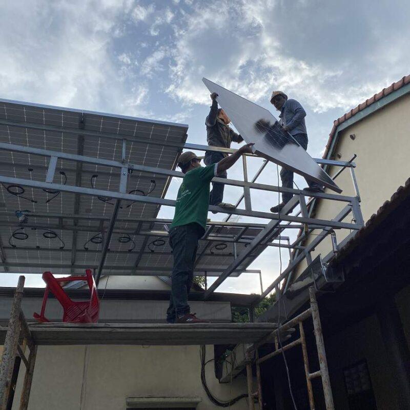 Lắp đặt điện năng lượng mặt trời tại Đồ Sơn