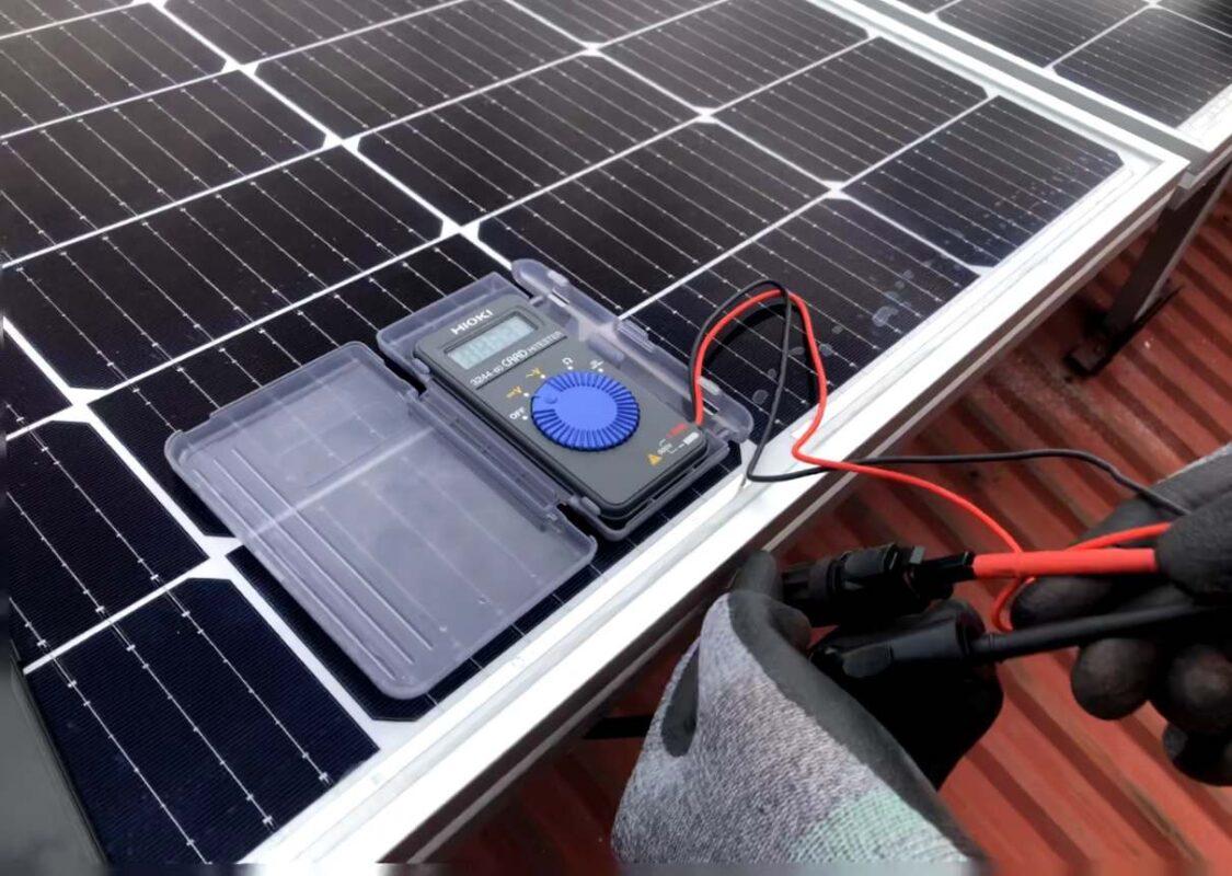 lắp đặt điện năng lượng mặt trời tại Hải An
