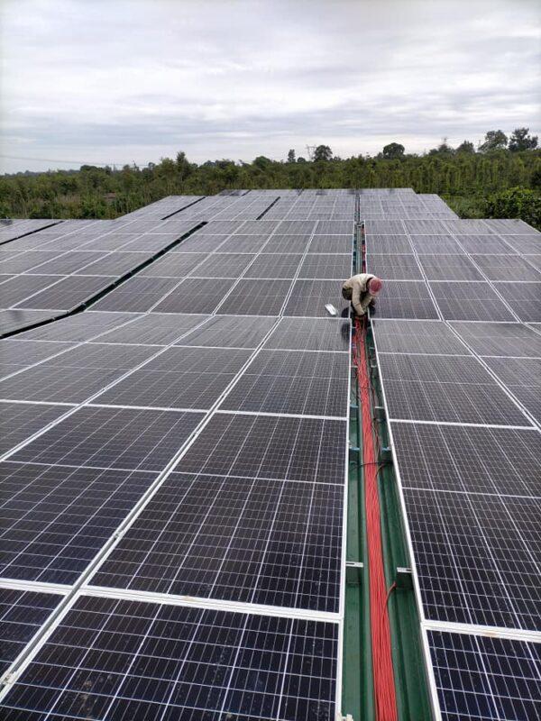 Lắp điện mặt trời tại Tiền Hải Thái Bình