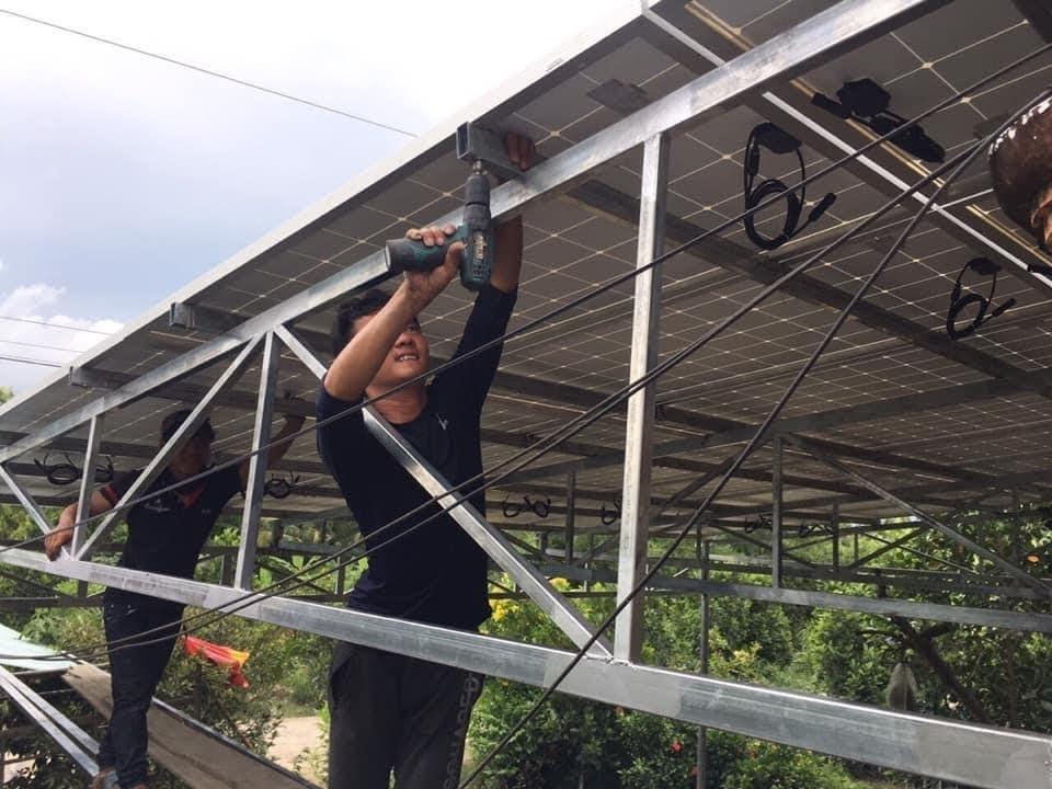 Hệ thống điện năng lượng mặt trời Gia Bình Bắc Ninh