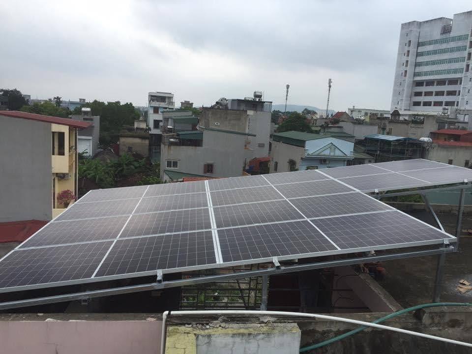 Lắp điện mặt trời tại Tiên Du Bắc Ninh