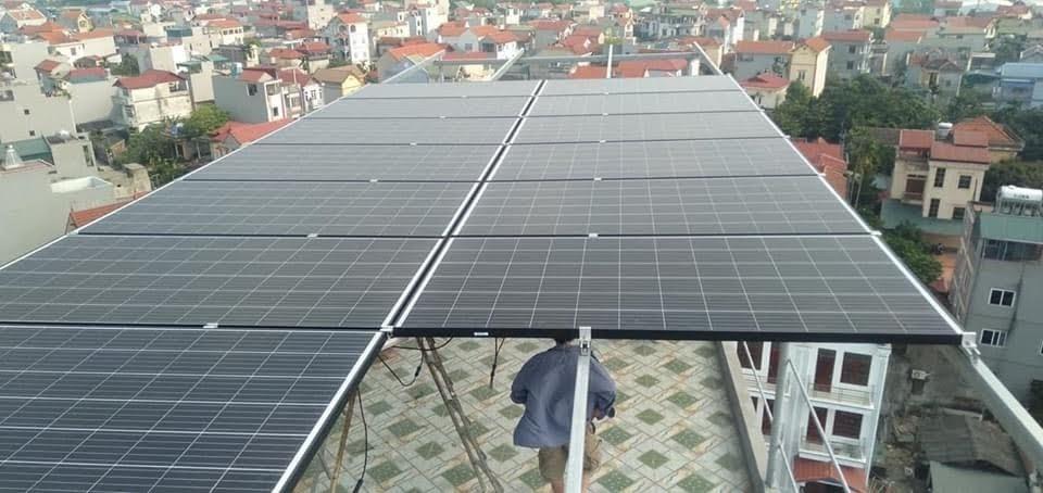 lắp điện mặt trời tại Từ Sơn Bắc Ninh