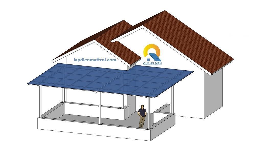 Thiết kế điện mặt trời Hybird 9kw tại Hải Phòng