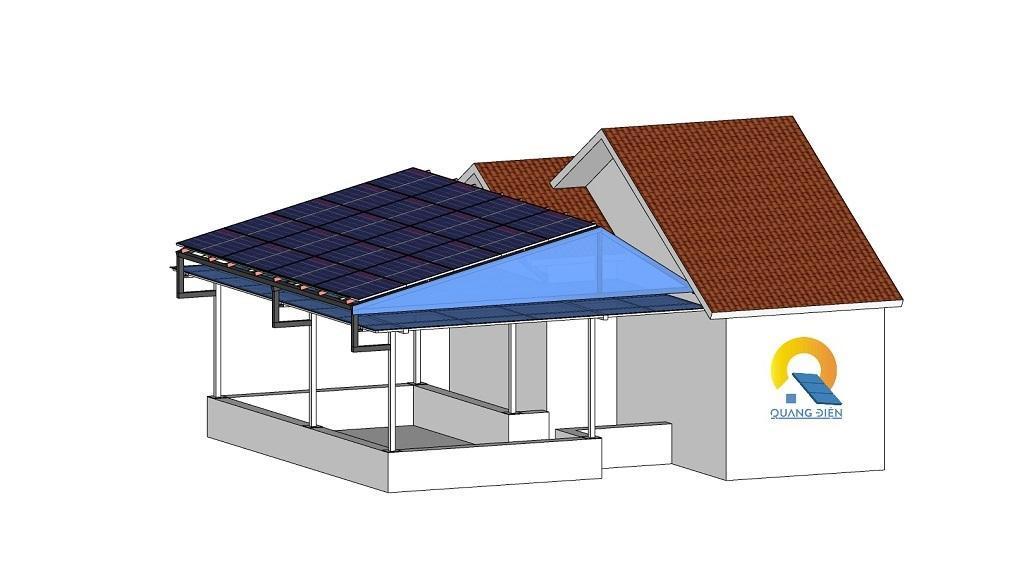 Mô phỏng thiết kế hệ thống điện năng lượng mặt trời hybird