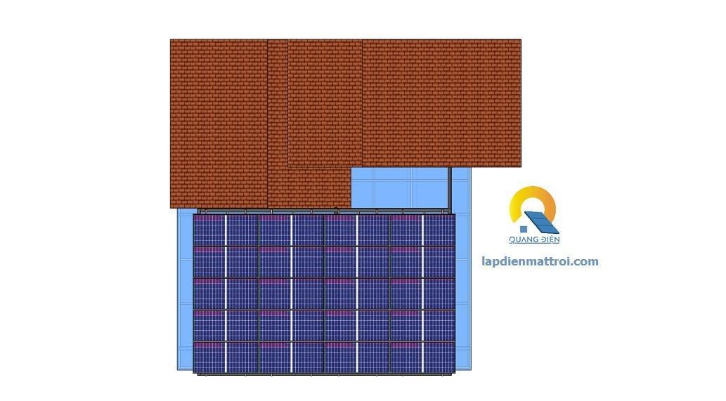 Mô phỏng hệ thống điện năng lượng mặt trời hybird